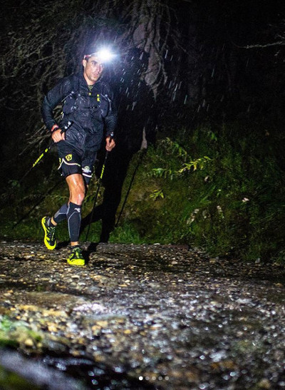 mejores frontales para trail running